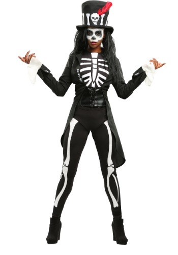 62a9c4ddd35b5 Voodoo Skeleton Costume for Women